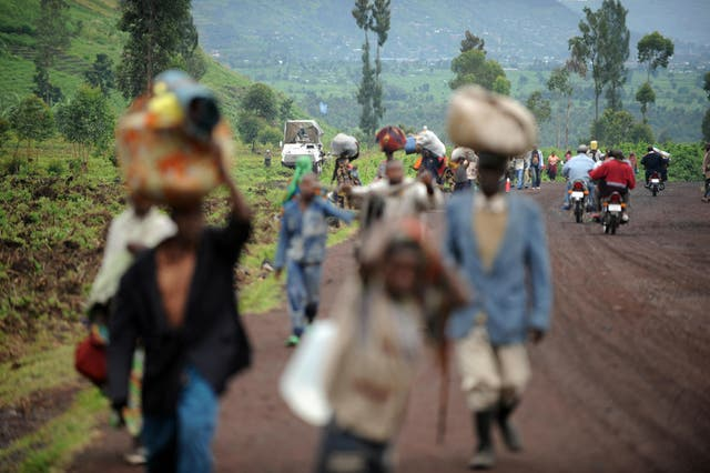 <p>File: Human Rights Watch and Oxfam were among the groups that worked in Goma, Democratic Republic of the Congo after people were displaced by violence in 2008</p>