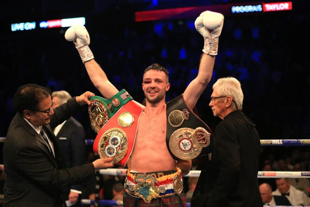 Josh Taylor boxes Jose Ramirez to decide the undisputed light welterweight champion
