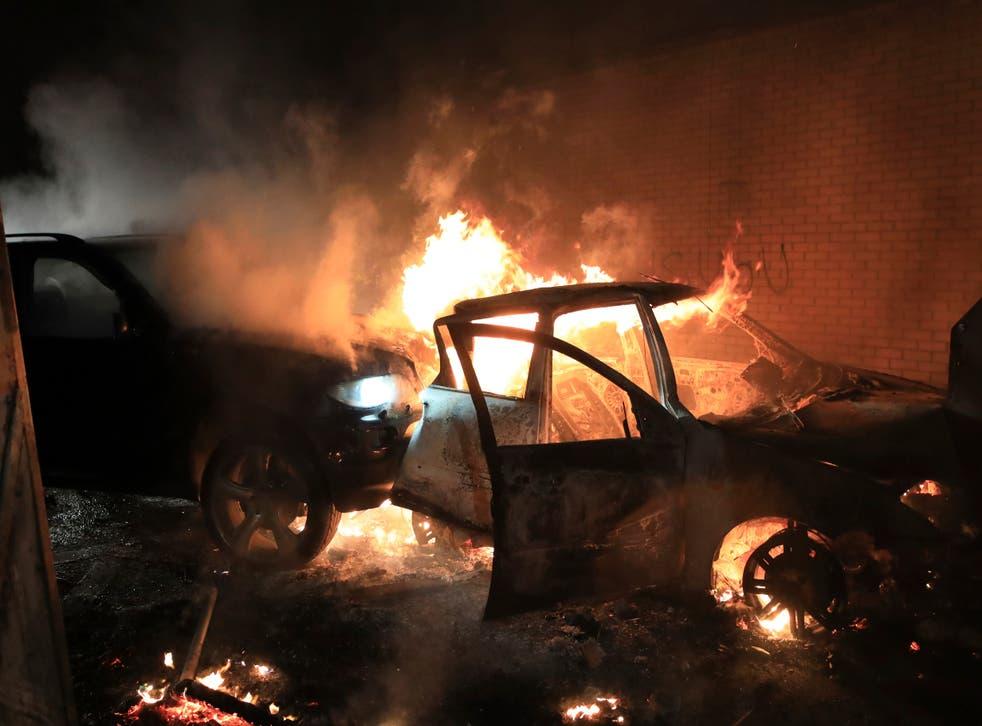 APTOPIX Britain Northern Ireland Unrest