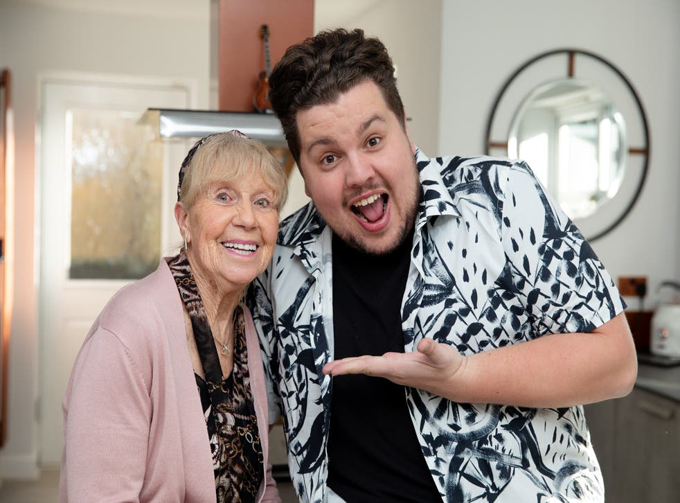 Scott Paige and his grandmother Dot