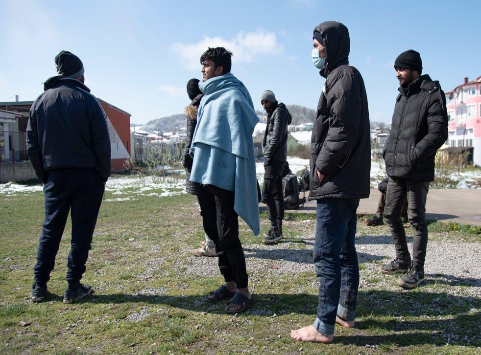 Virus Outbreak Bosnia Migrants