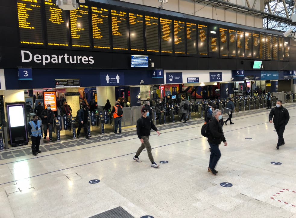 Arriving soon? Waterloo station in London, previously the busiest transport terminal in Europe