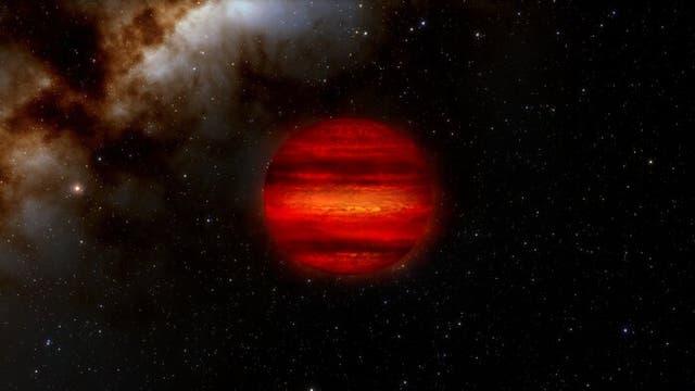 """<p>Una enana marrón, también conocida como """"estrella fallida"""", se forma cuando las estrellas no pueden reunir suficiente masa para desencadenar reacciones nucleares.</p>"""