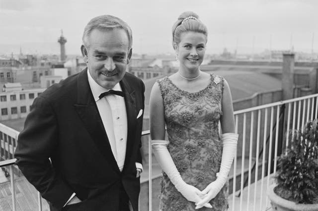 <p>File image: Rainier III, Prince of Monaco and Princess Grace of Monaco</p>