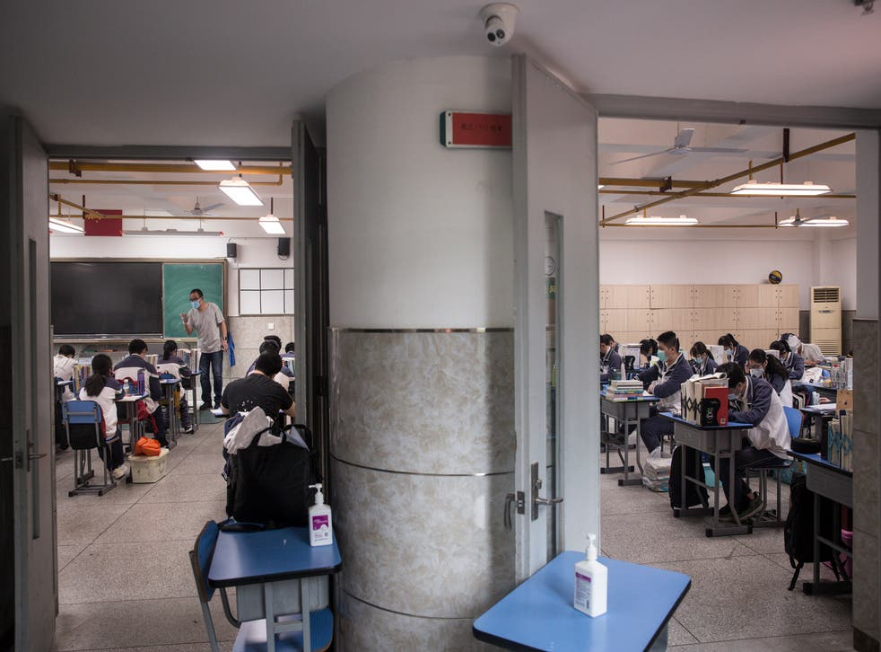 <p>File image: The new law, if passed, will be the first in China to prohibit dating between students and teachers</p>