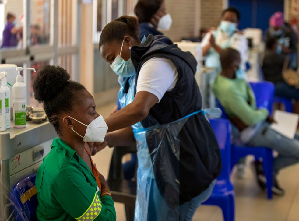 Virus Outbreak South Africa