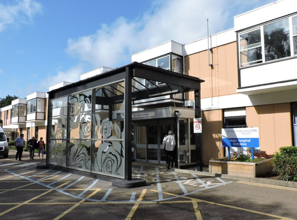 <p>The Queen Elizabeth Hospital in King's Lynn is 40-years-old</p>