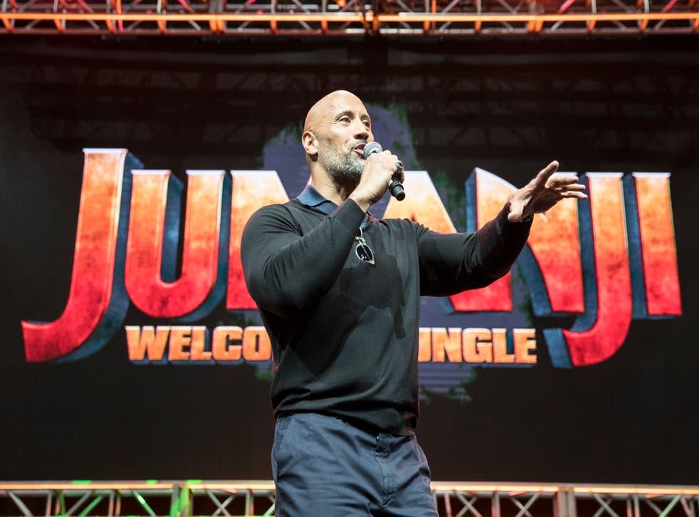 <p>Dwayne 'The Rock' Johnson</p>