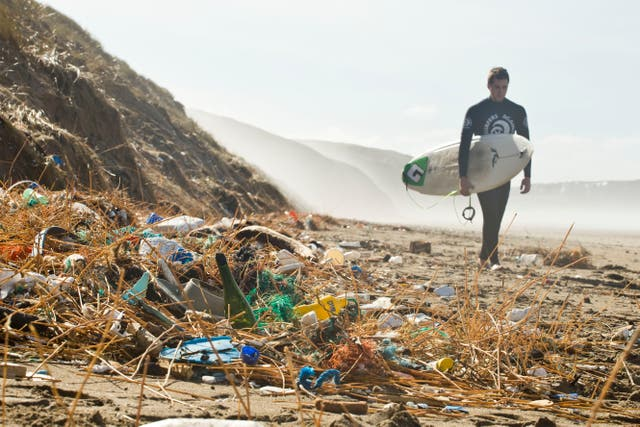 <p>Each year billions of kilograms of rubbish enter our oceans and around 80 per cent of the plastic and trash that ends up in our seas comes from sources on land</p>