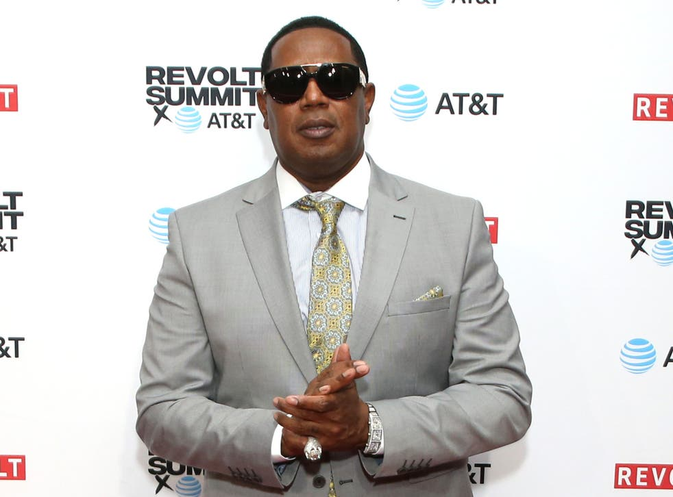 Master P at an event in Los Angeles, California, on 26 October 2019