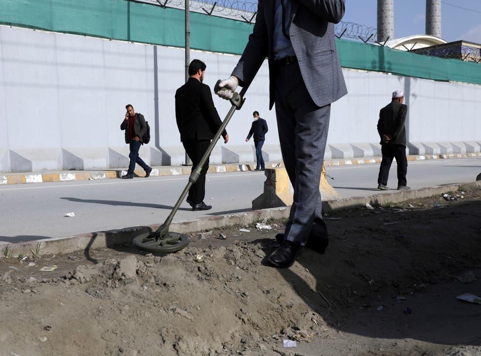 Afghanistan Sticky Bombs