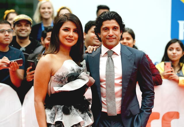 "<p>File image: Priyanka Chopra Jonas and Farhan Akhtar attend ""The Sky Is Pink"" premiere during the 2019 Toronto International Film Festival </p>"