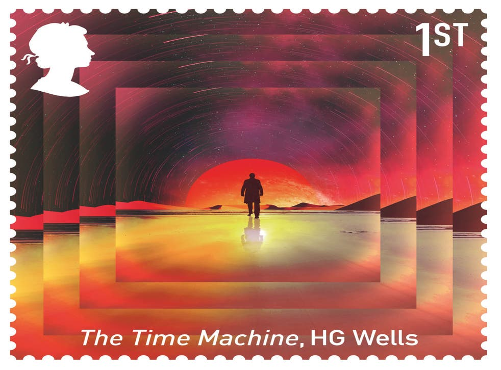 The Time Machine stamp