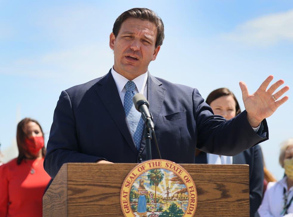Florida Governor Ron DeSantis