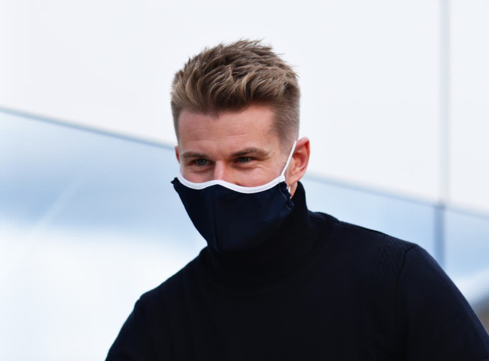 German Formula One driver Nico Hulkenberg