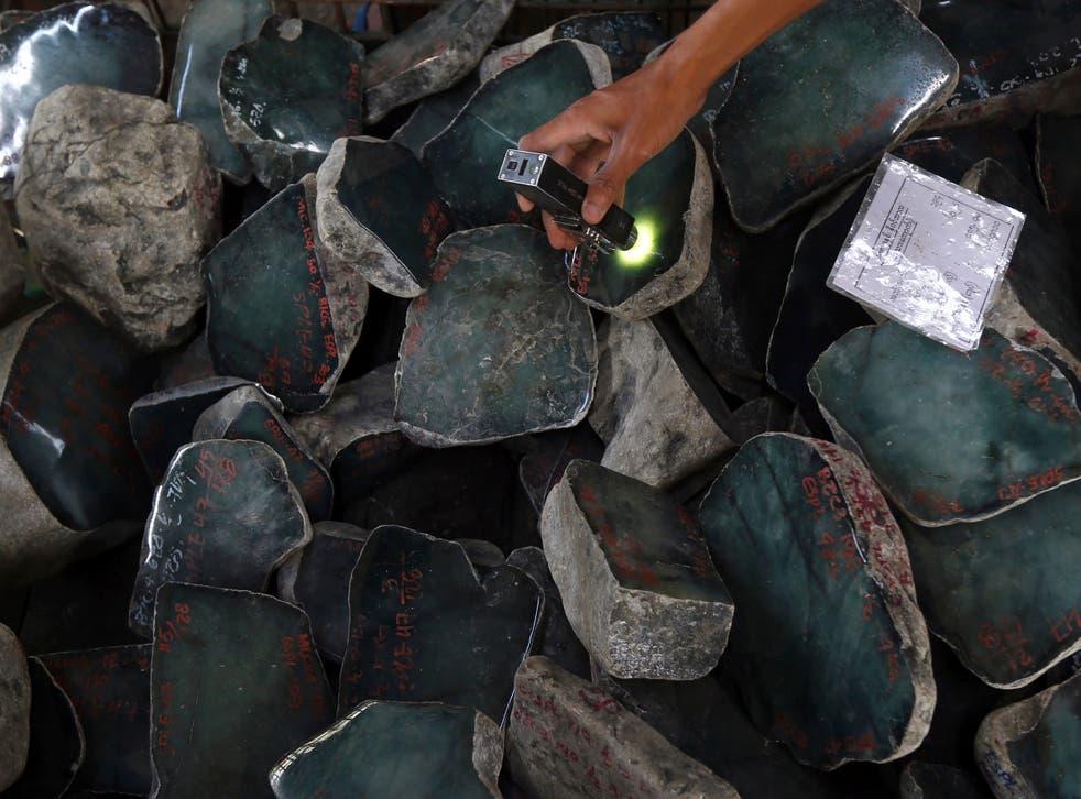 Myanmar Gems Trade