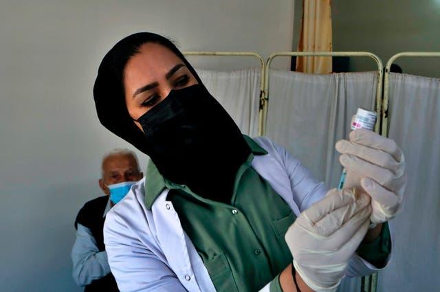 Virus Outbreak Iraq