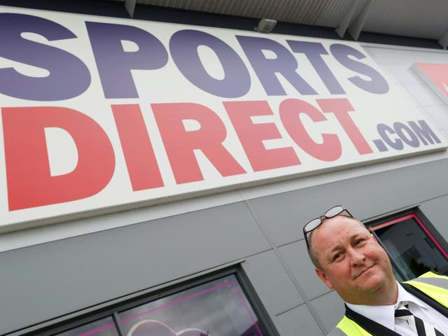 <p>Mike Ashley, chief executive of Sports Direct owner Frasers Group</p>