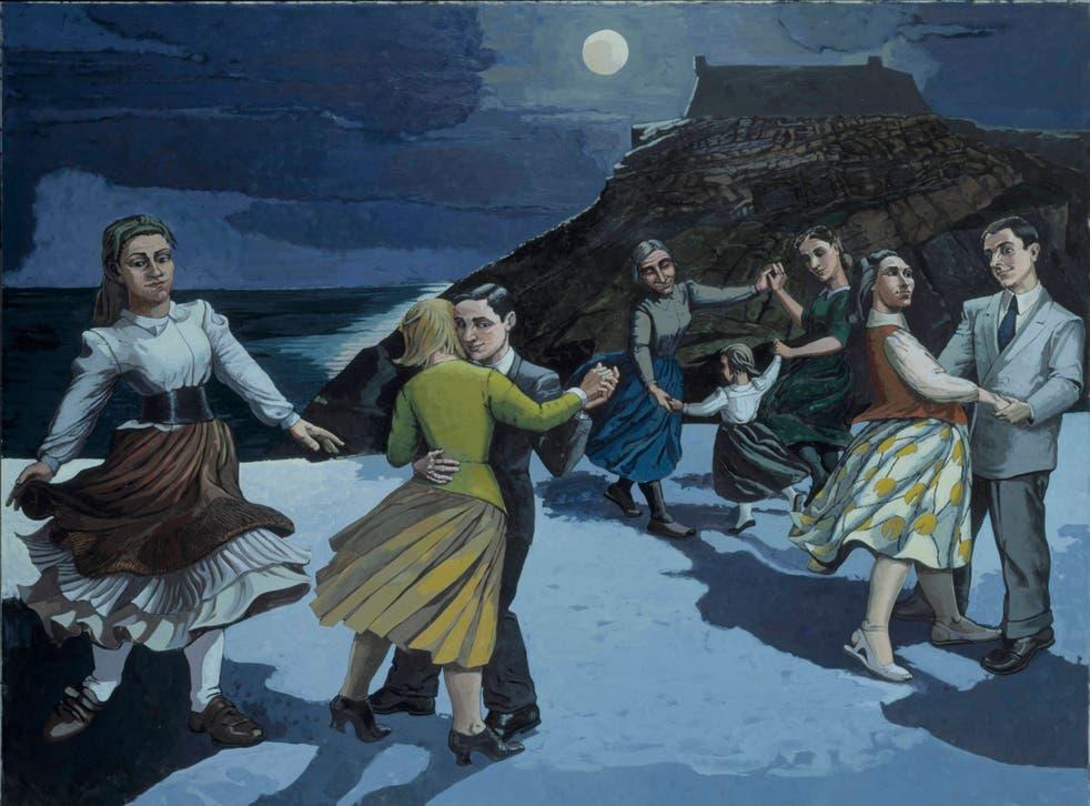The Dance, 1988, by Paula Rego.
