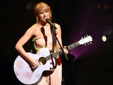 Taylor Swift to become first female winner of the Brit Global Icon award