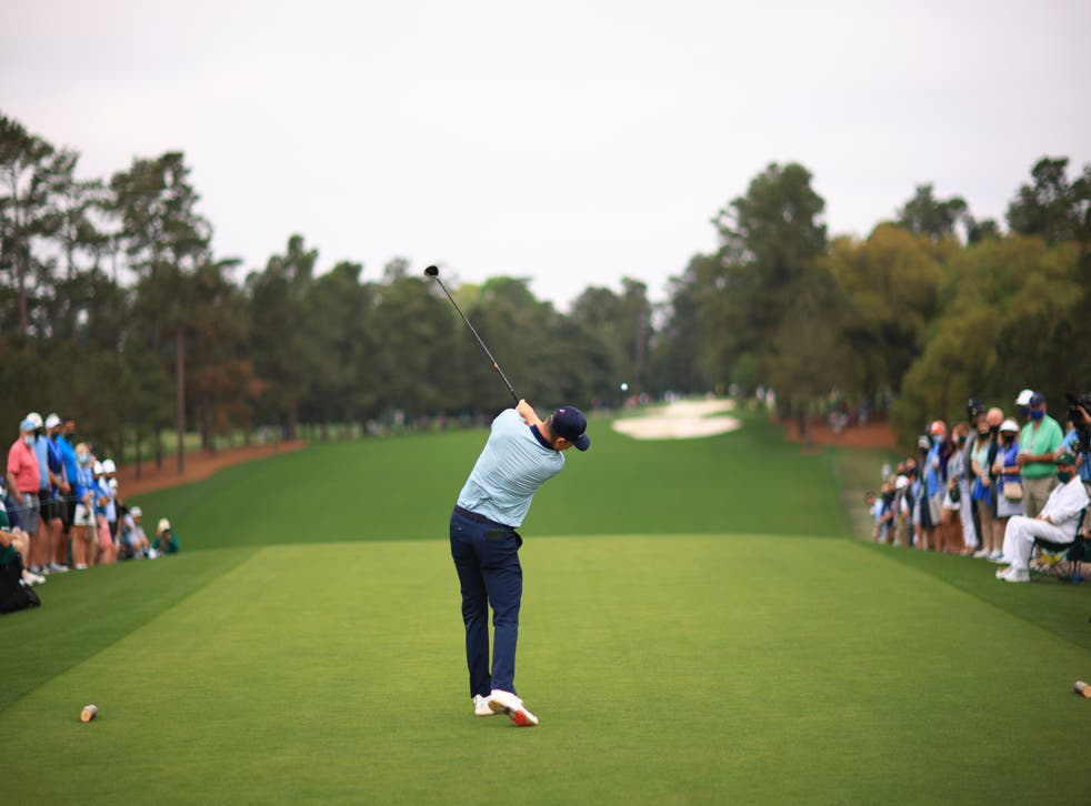 <p>Justin Rose was the overnight leader at -7</p>