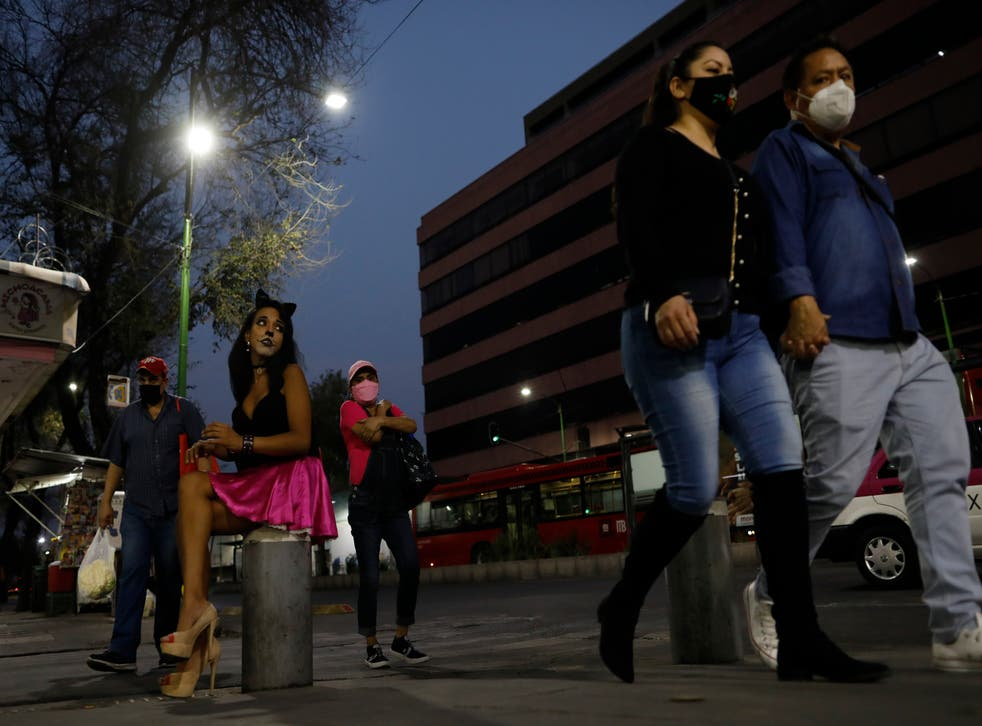Virus Outbreak Mexico Sex Workers