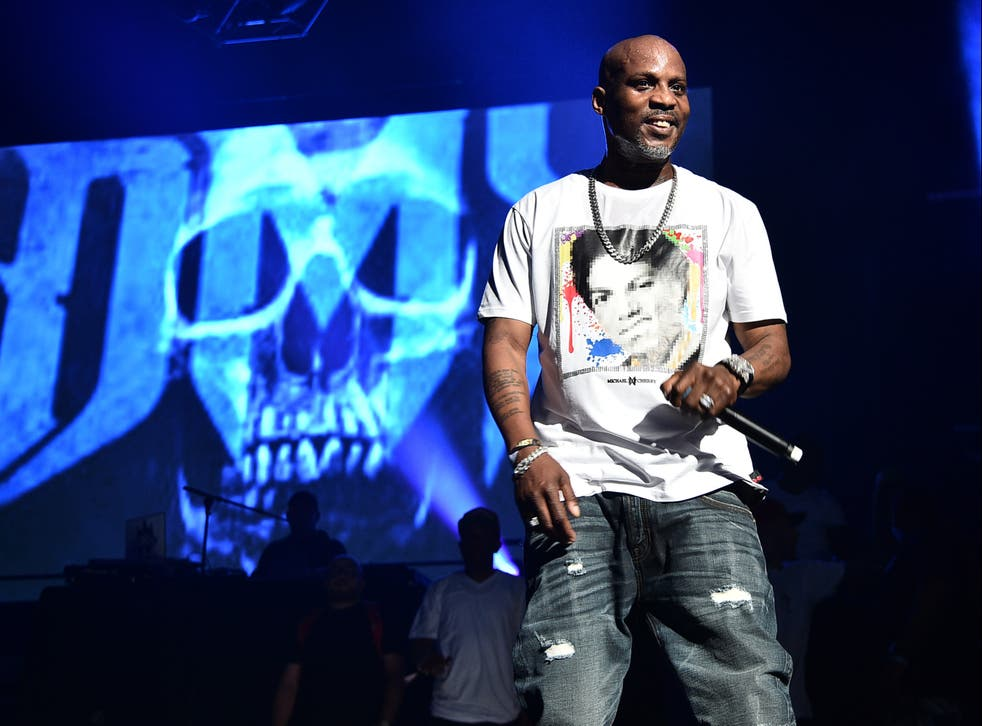 DMX performs on 28 June 2019 in New York City