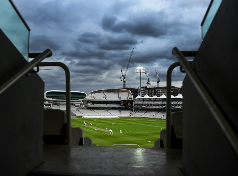 A general view of play during Middlesex vs Somerset at Lord's