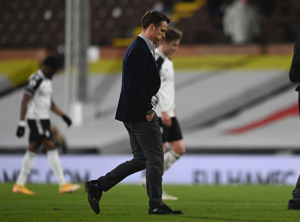 Fulham manager Scott Parker