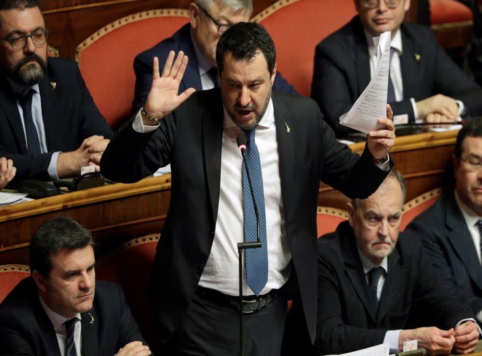 Italy Migrants Salvini