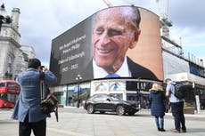 Prince Philip death latest: Palace unveils details of televised funeral as Charles pays tribute to 'dear papa'