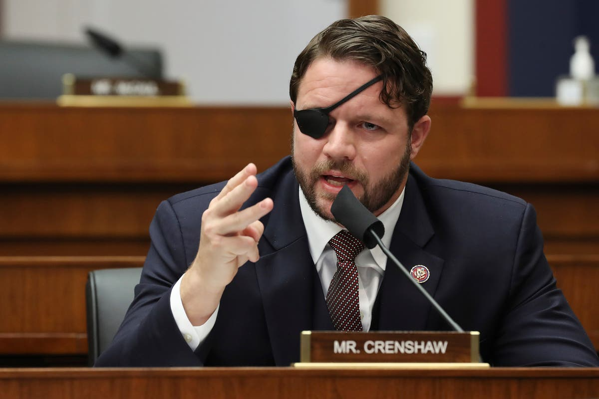 Dan Crenshaw says he'll be blind for a month as he recovers from eye surgery