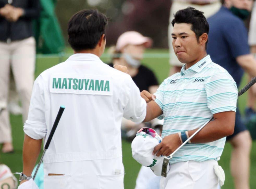 <p>Hideki Matsuyama takes a four-shot lead into the final day</p>