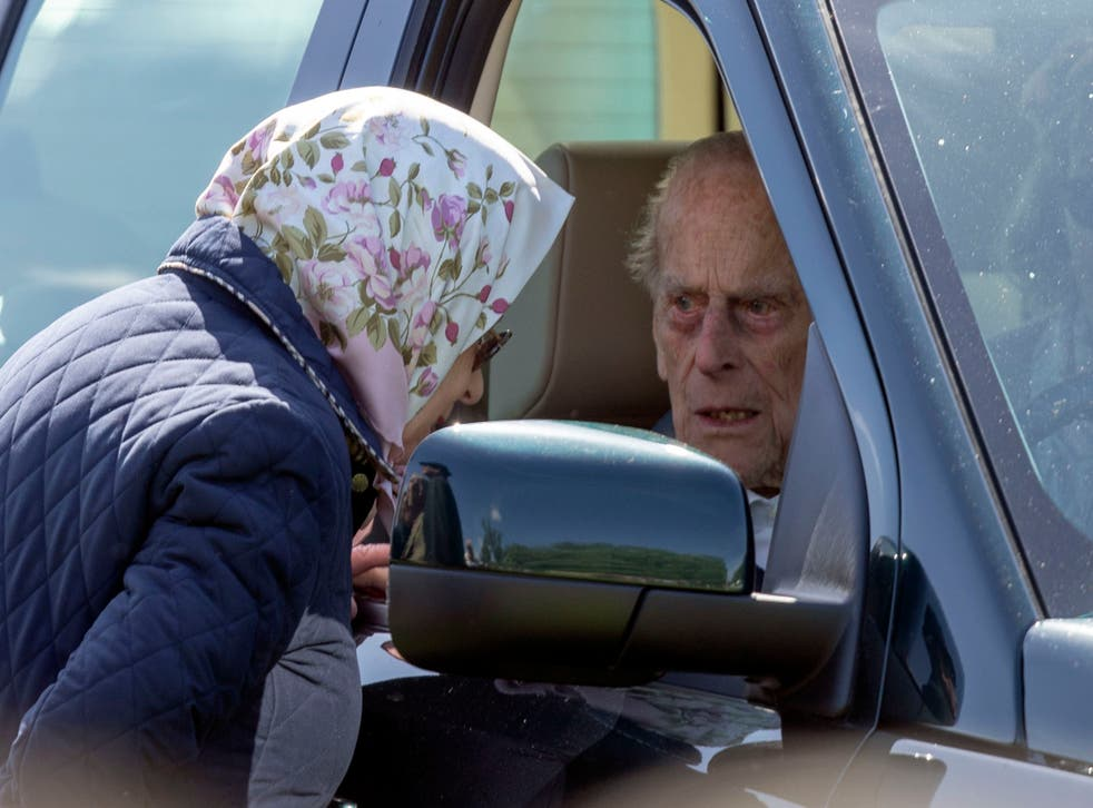 """The Duke of Edinburgh, then aged 97,  was left """"very shocked"""" and shaken when the Land Rover Discovery he was driving was involved in a collision with a Kia as he drove near the Queen's Sandringham estate"""