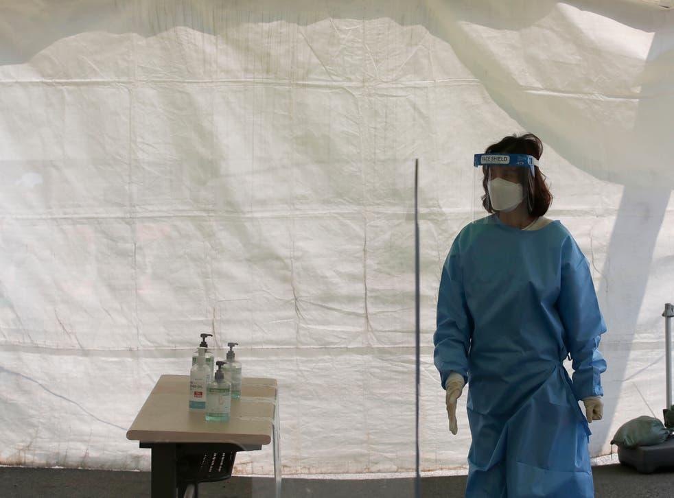 Virus Outbreak South Korea Daily Life