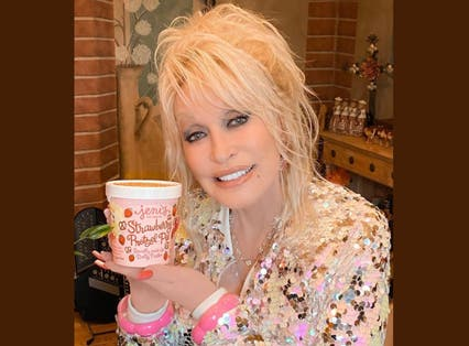 <p>It's only right that the coolest woman in the world has her own ice cream flavour</p>