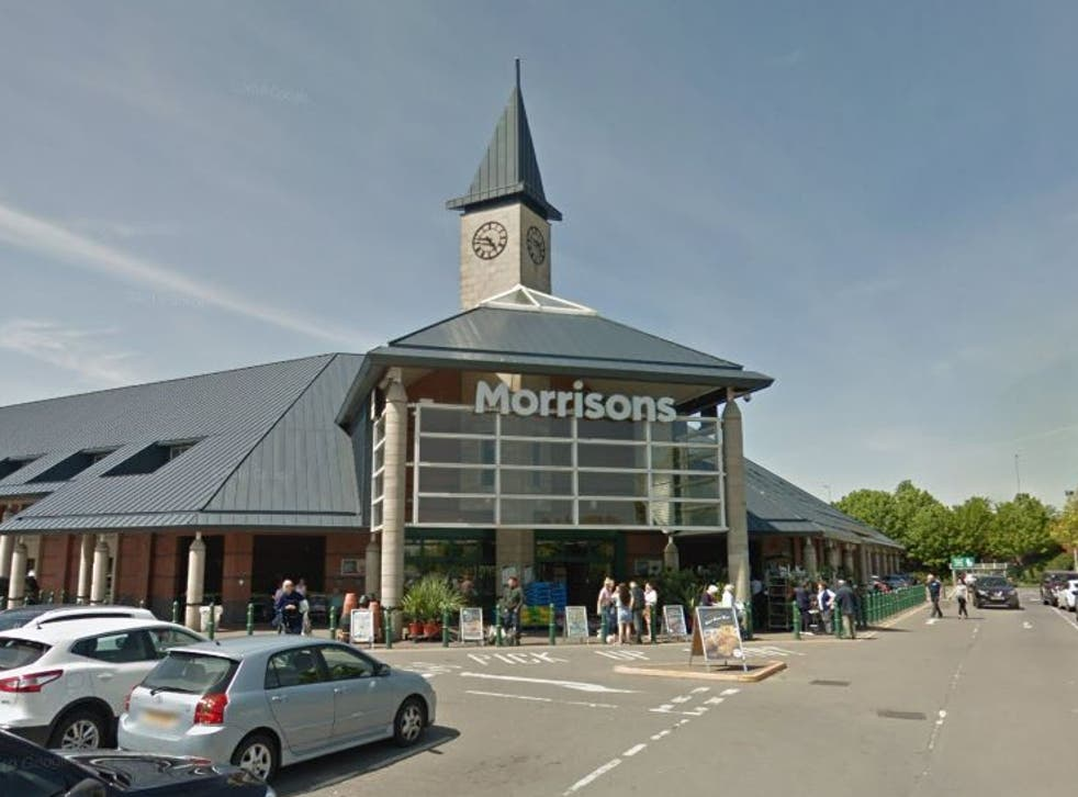 <p>The body of a baby was found in the car park at Morrison's in Bilston</p>