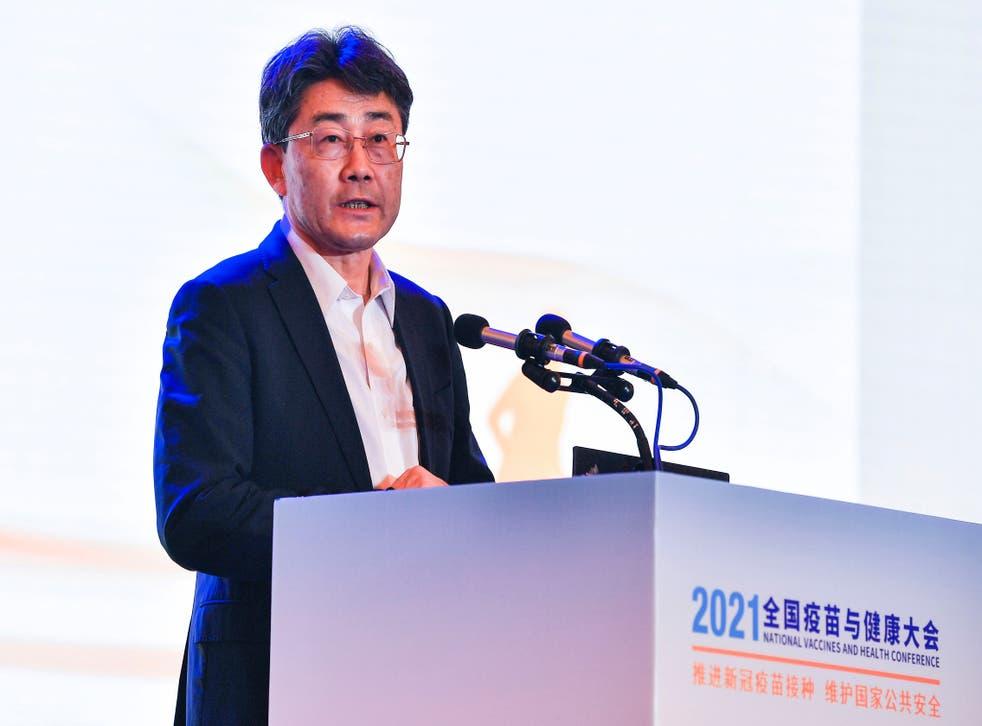 Gao Fu đã nói về vắc xin của Trung Quốc tại một hội nghị ở Thành Đô vào thứ Bảy