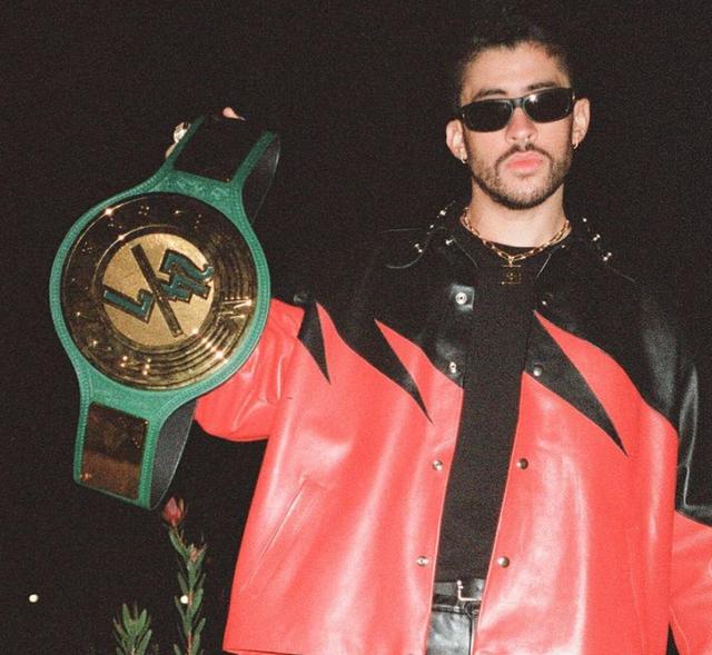 <p>File image: Bad Bunny prior to his WrestleMania debut</p>