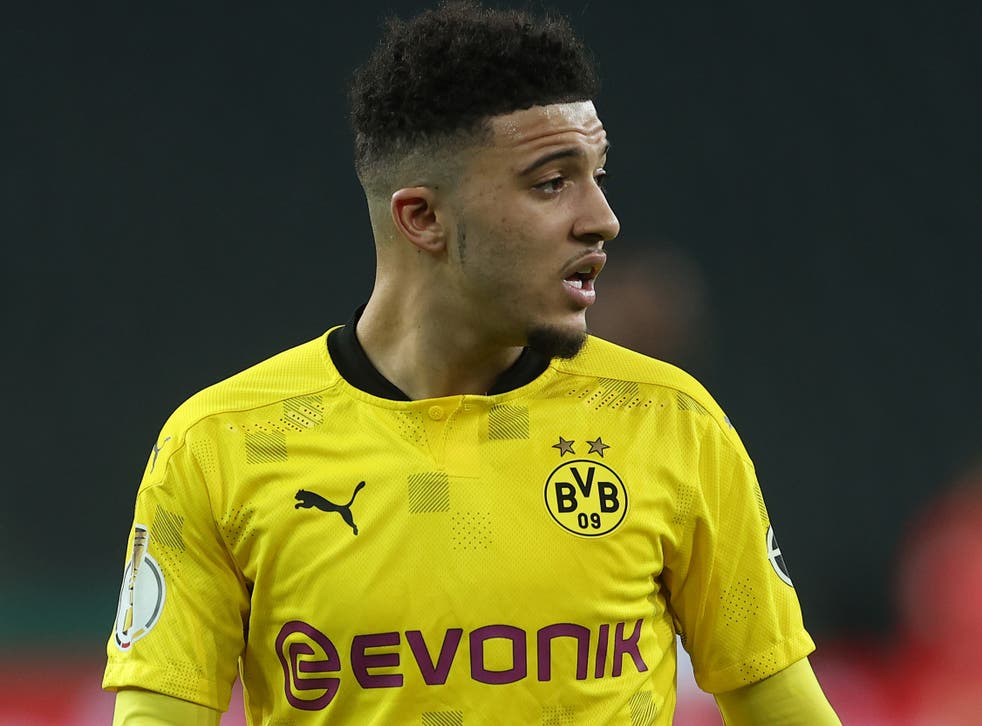 <p>Jadon Sancho has been linked with a summer move to Manchester United</p>