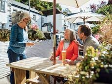 When do pubs and restaurants open indoors?