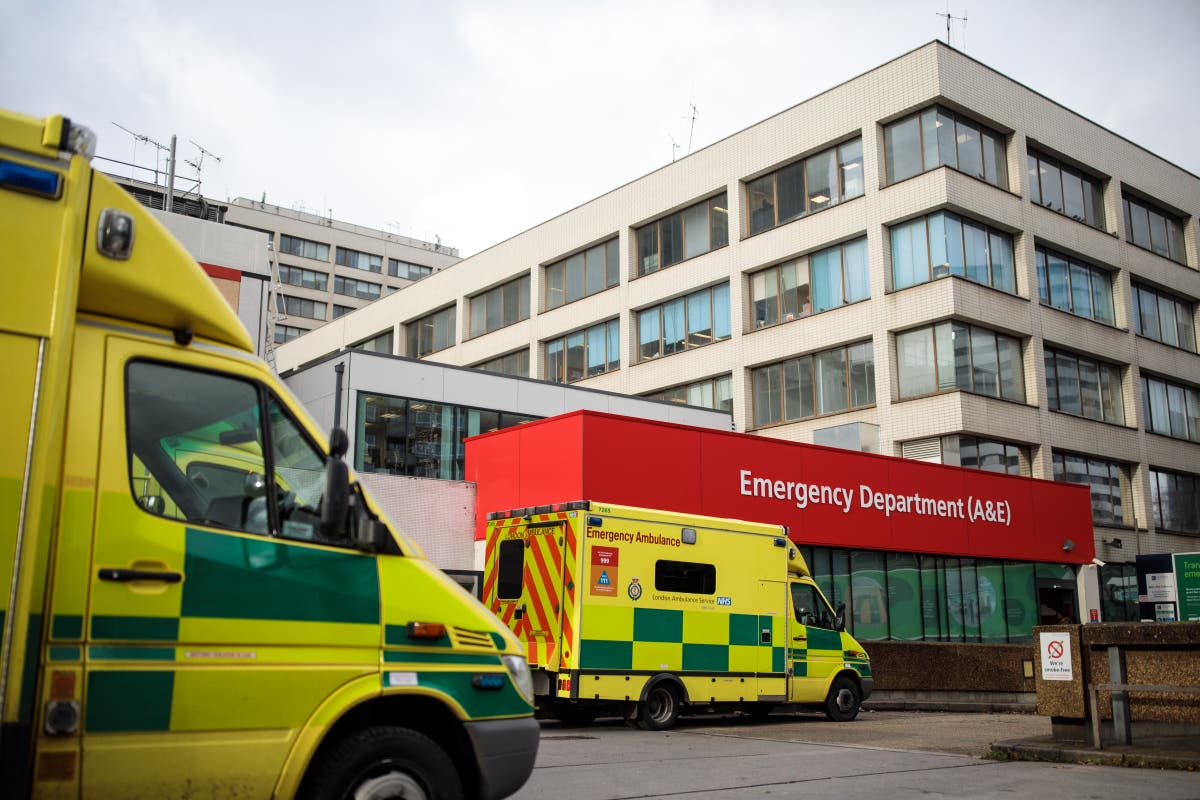 A&Es 'swamped' with patients over fears of AstraZeneca blood clots