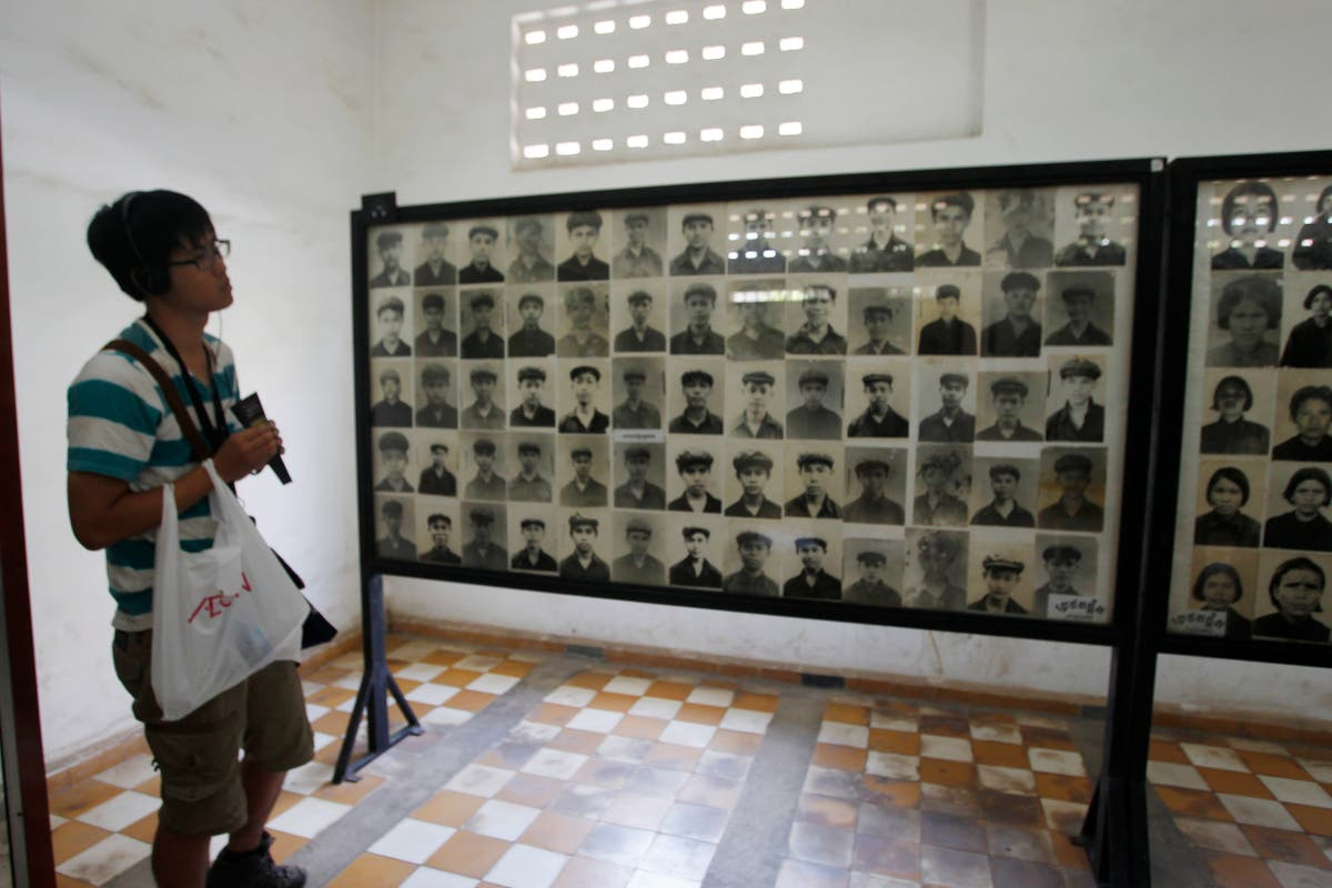 Gallery of the victims of the Angkar, Genocide Museum