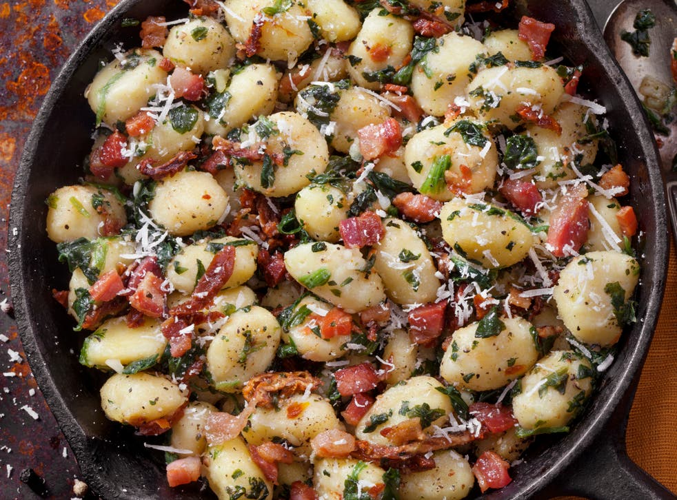 <p>The only difficulty with pan-fried gnocchi is stopping yourself wolfing the lot in one go</p>