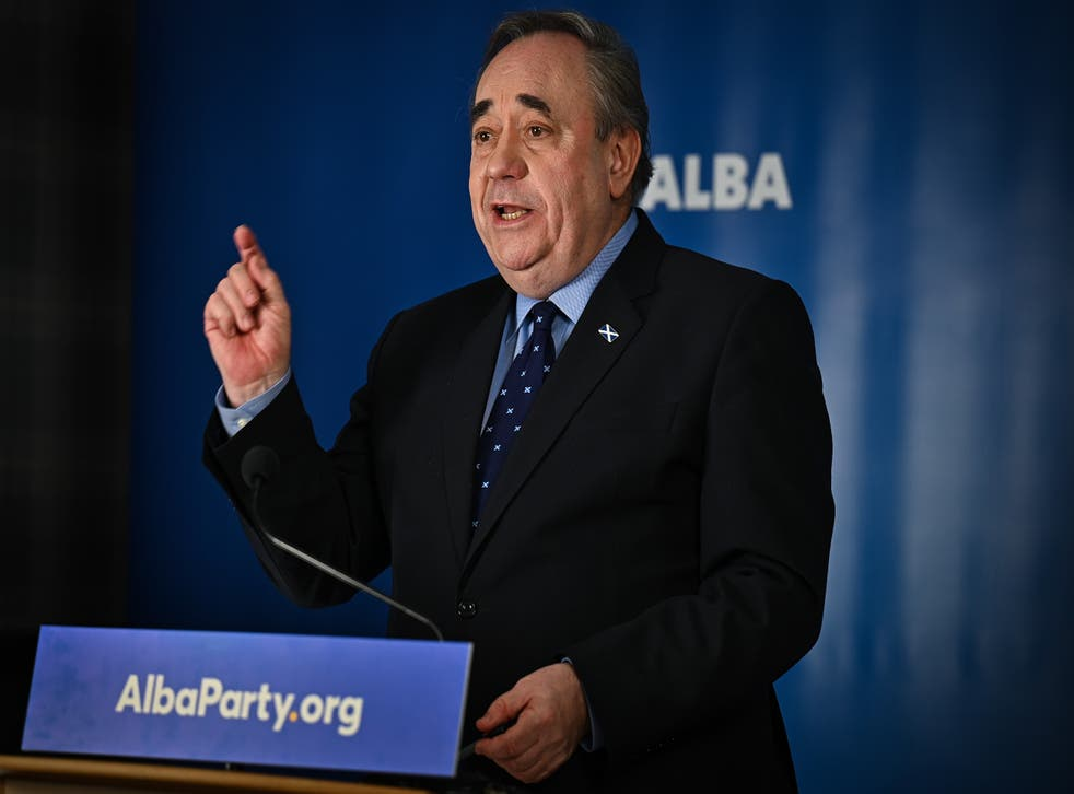 <p>Alex Salmond's Alba Party is seeking to gain seats in the upcoming Scottish Parliament elections.</p>