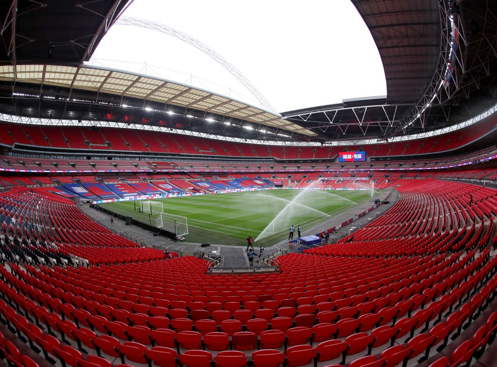 Wembley Stadium will host the three crucial fixtures