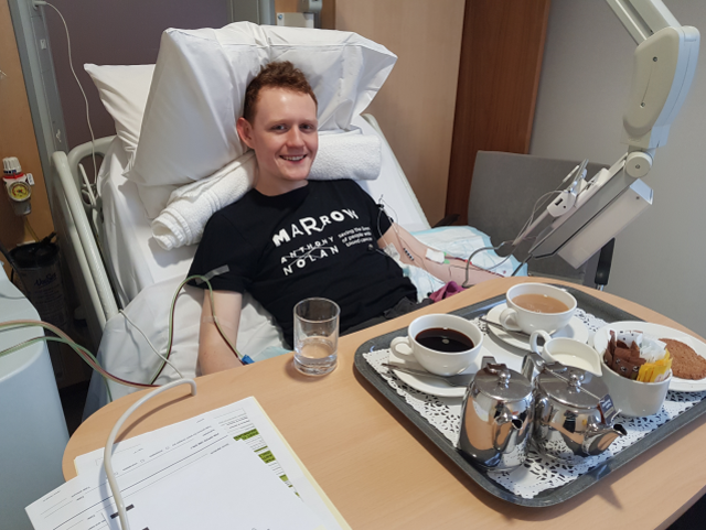 <p>Will Briant, from London, donated stem cells in 2015 after signing up to be on the registry at university</p>