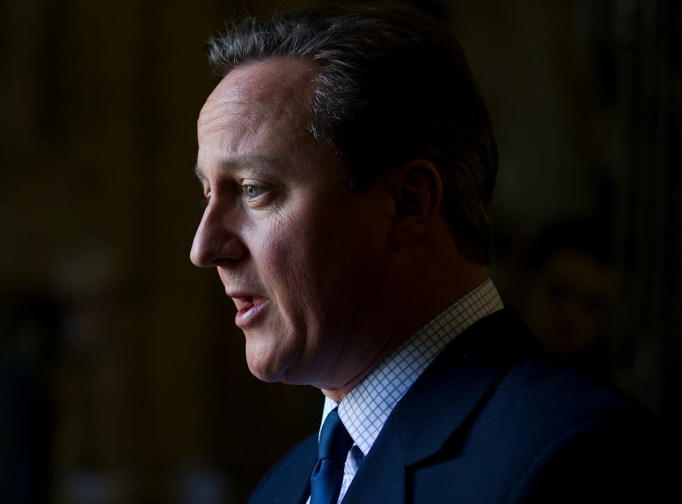 <p>Mr Cameron wrote the lobbying rules but exempted ex-prime ministers</p>