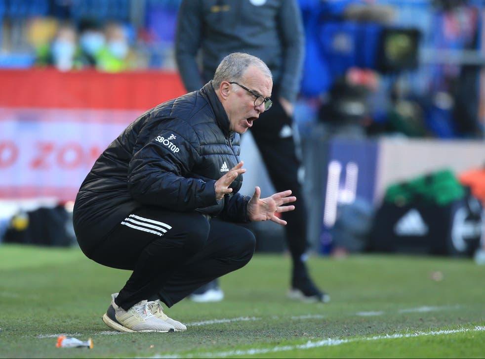 Leeds coach Marcelo Bielsa