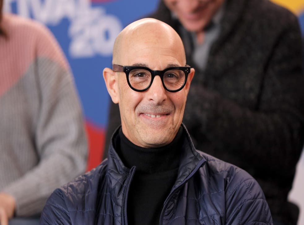 <p>A cardboard cut-out of Stanley Tucci was just one of the weirdest things people have displayed in their window.</p>